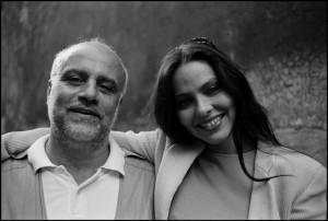 Итальянская актриса Орнелла Мути с фотографом Фердинандо Чианна