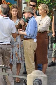 Ornella Muti, Alessandra Mastronardi and Woody Allen