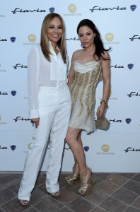 Ornella Muti and her daughter Naike