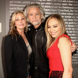 Bo Derek, Hermann Buehlbecker and Ornella Mutti attends the 'Lambertz Monday Night'
