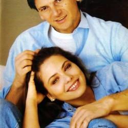 Орнелла Мути и её муж Федерико Факкинетти