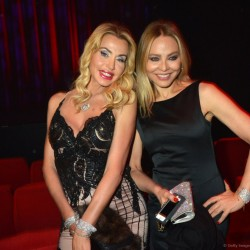Valeria Marini and Ornella Muti attends the Trophee De Paris Awards 2013