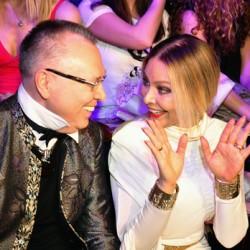 модельер Вечаслав Зайцев и актриса Орнелла Мути