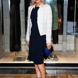 Ornella Muti a Cannes con altre star al party nella boutique Armani