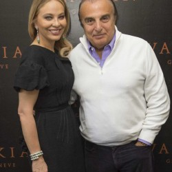 Ornella Muti and Edmond Avakian