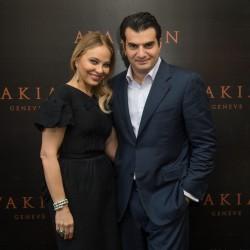 Ornella Muti and Haig Avakian