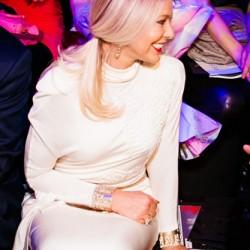 Орнелла Мути на модном показе