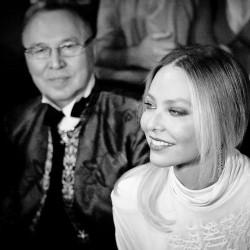 Вечаслав Зайцев и актриса Орнелла Мути