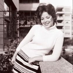 Черно-белая фотография Орнеллы Мути 2