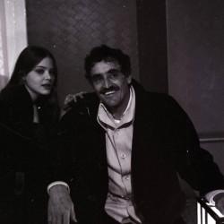 Ornella Muti e Vittorio Gassman