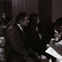 Ornella Muti, Franco Rossi e Vittorio Gasmann