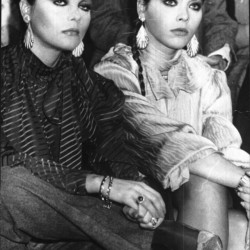 Орнелла Мути с сестрой Клаудией Ривелли