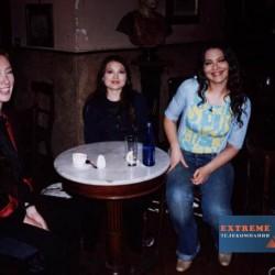 Арина Шарапова, Орнелла Мути и её дочь Каролина
