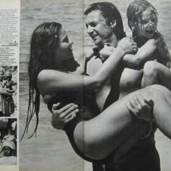 Орнелла Мути, Федерико Факкинетти и их дочь Найке