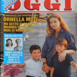 OGGI 1994 - Орнелла Мути с детьми