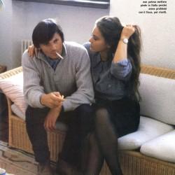Орнелла Мути со своим вторым мужем Федерико