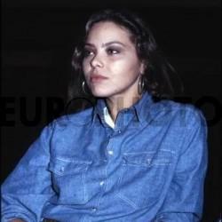 Орнелла Мути в джинсовом костюме 7