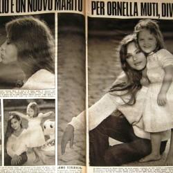1977 - Орнелла Мути с дочерью Найке