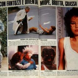 1985 - нарезка фотографий из фильма Бонни и Клайд по-итальянски