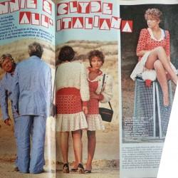 Бонни и Клайд по-итальянски (фото из журнала)