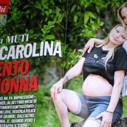 Chi 2014 - Орнелла Мути и её беременная дочь Каролина