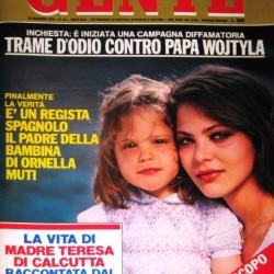 GENTE 1979 - Орнелла Мути с дочерью Найке