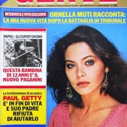 GENTE #51 1981 Ornella MUTI
