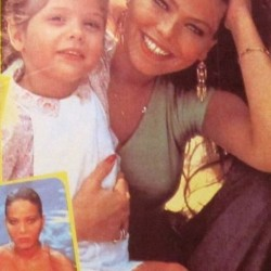 Katerina - 29 March 1983 - Орнелла Мути с дочерью Найке