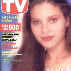 NUOVA GUIDA TV MONDADORI 1986