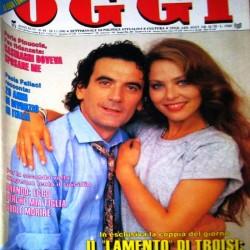 OGGI 1990 - Орнелла Мути и Массимо Троизи