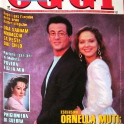 OGGI 1991 - Сильвестр Сталлоне и Орнелла Мути