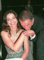 Ornella Muti and producer Alain Terzian