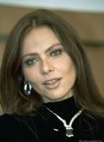 Орнелла Мути в колье с черными бриллиантами DeGrisogono