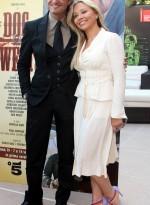 Giulio Base and Ornella Muti