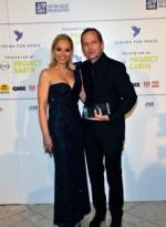 Ornella Muti and Michele Placido attend Cinema for Peace